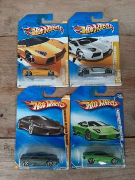 Hotel Wheels Lamborghini Set Old Series