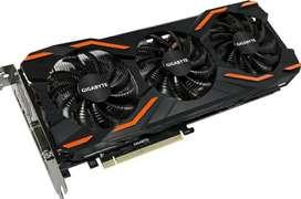 Gigabyte Nvidia Geforce GTX 1080 8GB OC 3x FANS