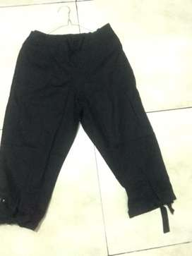 Celana katun hitam(jual cepat)