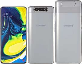 Samsung A80 white 8gb and 128gb