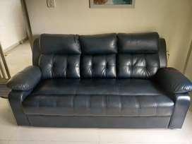 Leatherite sofa set. price negotiable