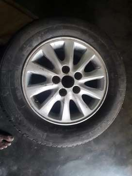 Innova Michelim tyre with 50percent button