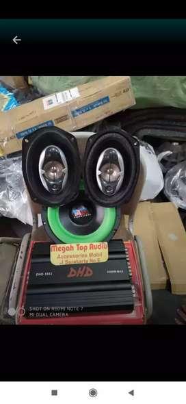Paket sound Amerika bos speaker oval