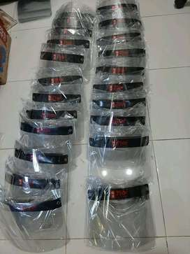 face shield custom murah