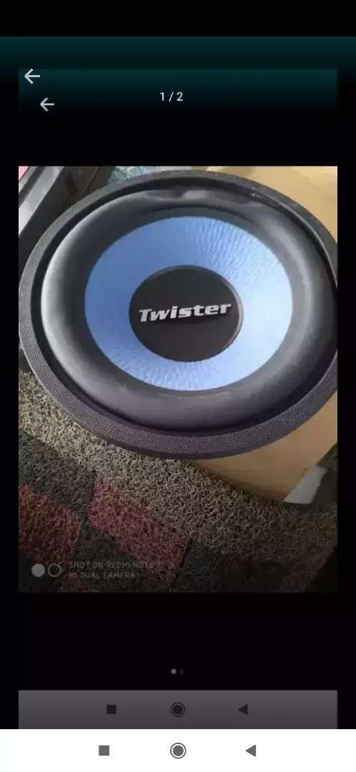 Subwofer twister 12 inch 0