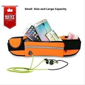Tas Ikat Pinggang Lari Water Proof 1 Kantung / Go Belt / Running Belt