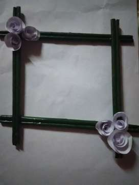 Wall flower hanging