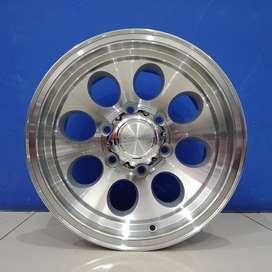 Cicil Velg Mobil Triton Strada DP 10% Ring 15 HSR DUFFY H6X139,7 SMF