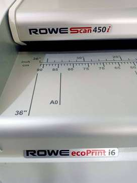 Plotter ROWE ecoPrint i6 & ROWE Scan450i