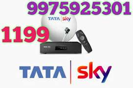 NEW TATASKY HD CONNECTION OFFER RS *1199