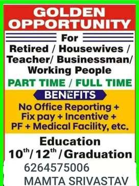 JOB TO BECOME A LIFE ADVISOR
