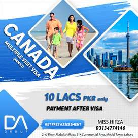 Canada multiple entry Family Visit Visa