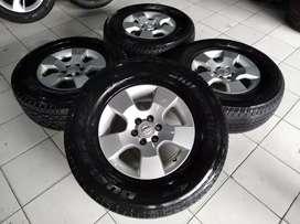 Jual velg Copotan OEM Nissan Navara Ring 16 plus ban