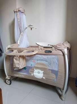 Box Ranjang Bayi / Baby Crib Babyelle