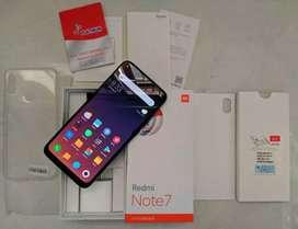Redmi Note 7 Blue ram 4/64 mulus lengkap