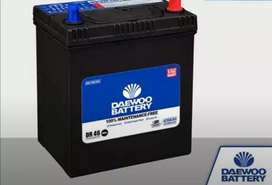 Daewoo battery (maintenance free dry battery)