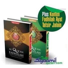 Al Quran Syaamil Fadhilah A4