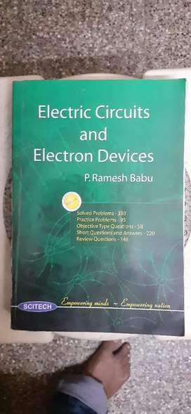 Electric circuits and electron devices(unused)