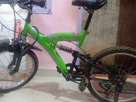 6 gear speed medium size bicycle