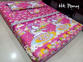 Sprei hello kitty
