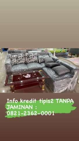 Kredit Sofa 1 Set DP Ringan + TANPA JAMINAN !! Proses Acc 30 Menit !