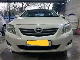 Toyota Corolla Altis top model automatic transmission.