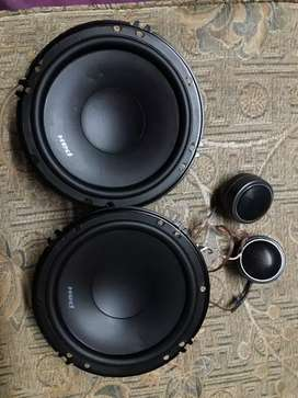 Cerwin vega component speakers