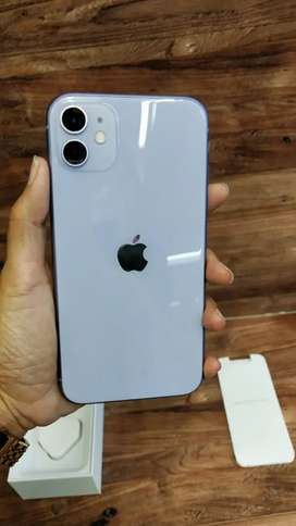 IPHONE 11 256 gb Purple Mulus Fullset Gransi TT X Xr 64 128 Xs Max 512