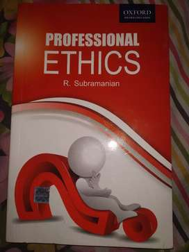 Professional Ethics by R. subramanian