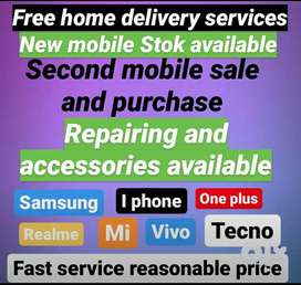 Repairing New mobile phone available