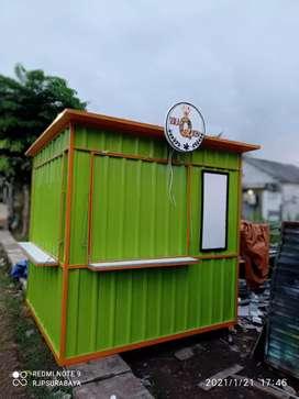 Rombong,gerobak,booth,semi kontainer,replika kontainer,kontainer murah