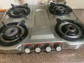 Gas stove( steel base )