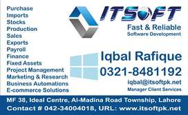 Accounting & Financial Software, ERP, Payroll & HR Sys E-Commerce, POS