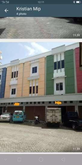 Ruko Cendrawasih strategis dipusat kota makassar