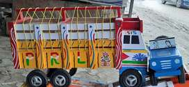 Wooden tractor for kids , free home delivery in Gurgaon