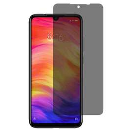 Violet Tempered Glass Privacy Color Side Xiaomi Redmi Note 7