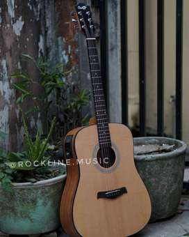 Gitar Akustik elektrik cowboy LC Prener Tuner