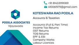 Accounts and Taxation