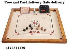 Carrom Board Full Set: Safe Home Delivery : COD : Full size : GOA
