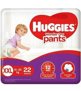 Huggies Large size dry diaper pants at 40% off