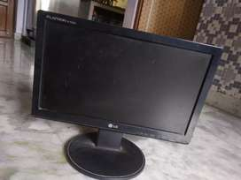 Monitor and cpu