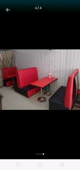"""Fast Food Sofa """"Table"""" 2×4ft Cafe Restaurant Hotel Home"""