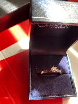 Jual cepat cincin berlian GASSAN 121 0,43 carat