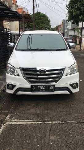 JUAL CEPAT: Innova Tipe G Diesel 2015 Matic Plat Jakarta