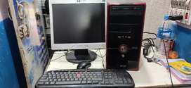 Dual core full computer set good condition