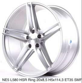 jual velg mobil murah HSR ring 20 for camry accord new