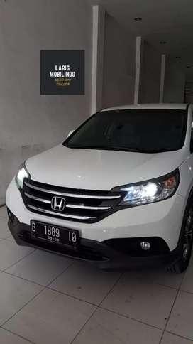 Honda CR-V 2.4L A/T Triptonic 2013 Putih Istimewa
