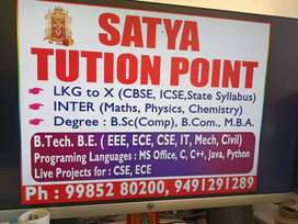 Satya tuition point
