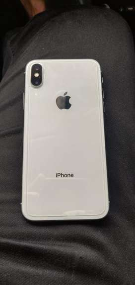 Iphone x 256Gb Silver Colour