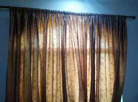 Full size 4 curtains in good condition